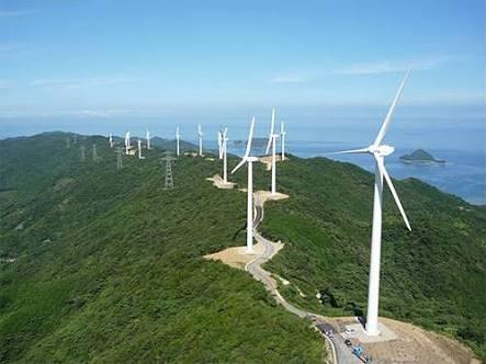 星と風と風力発電と