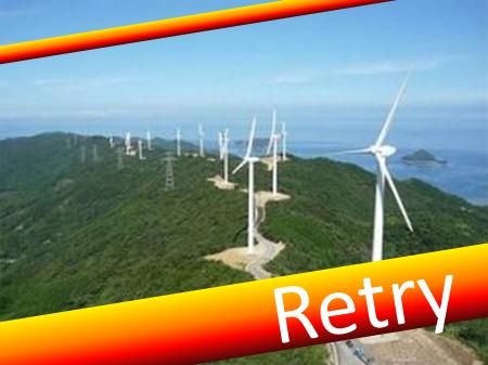 風力発電と星