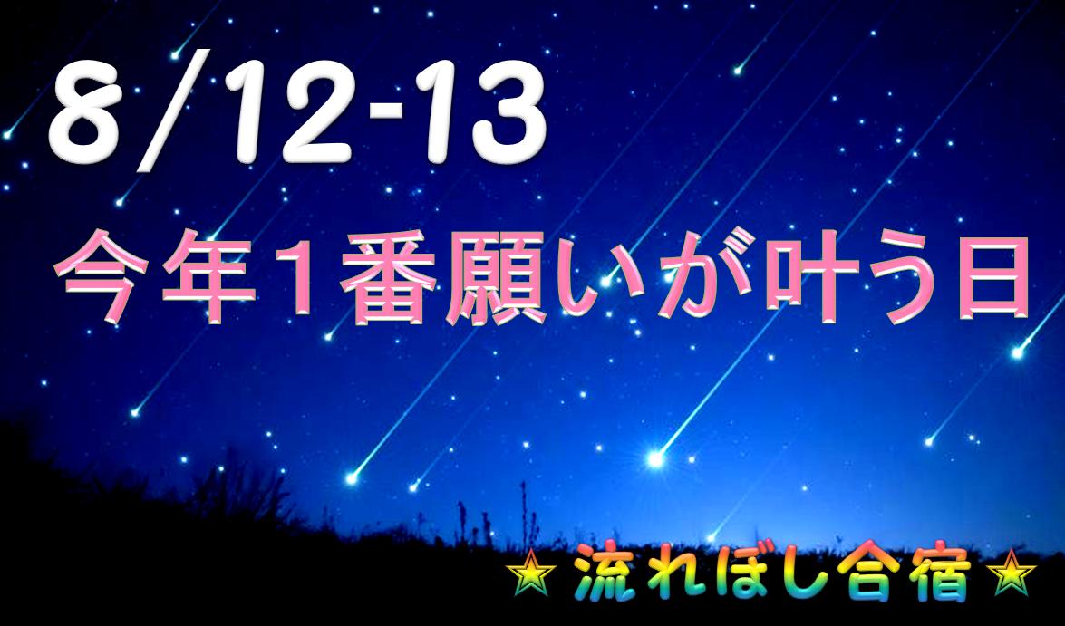 8月12日ペルセウス座流星群