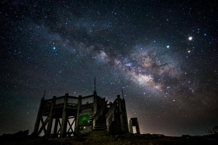 関西の天体観測地の聖地、大台ケ原山