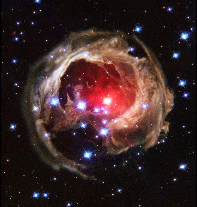 いっかくじゅう座V838星【太陽の60万倍の明るさ!?】(writter:HIDA)
