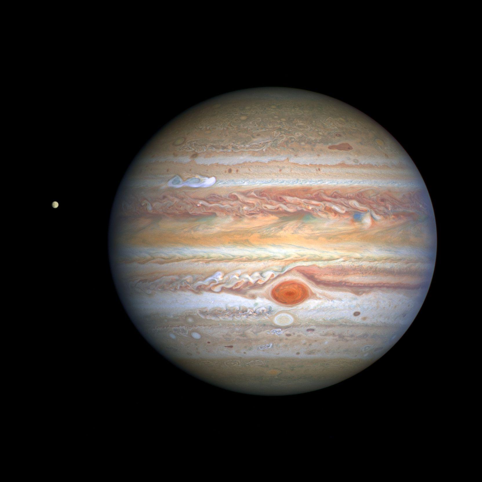 最新の木星研究と、「木星に落ちたら」(✍HIDA)