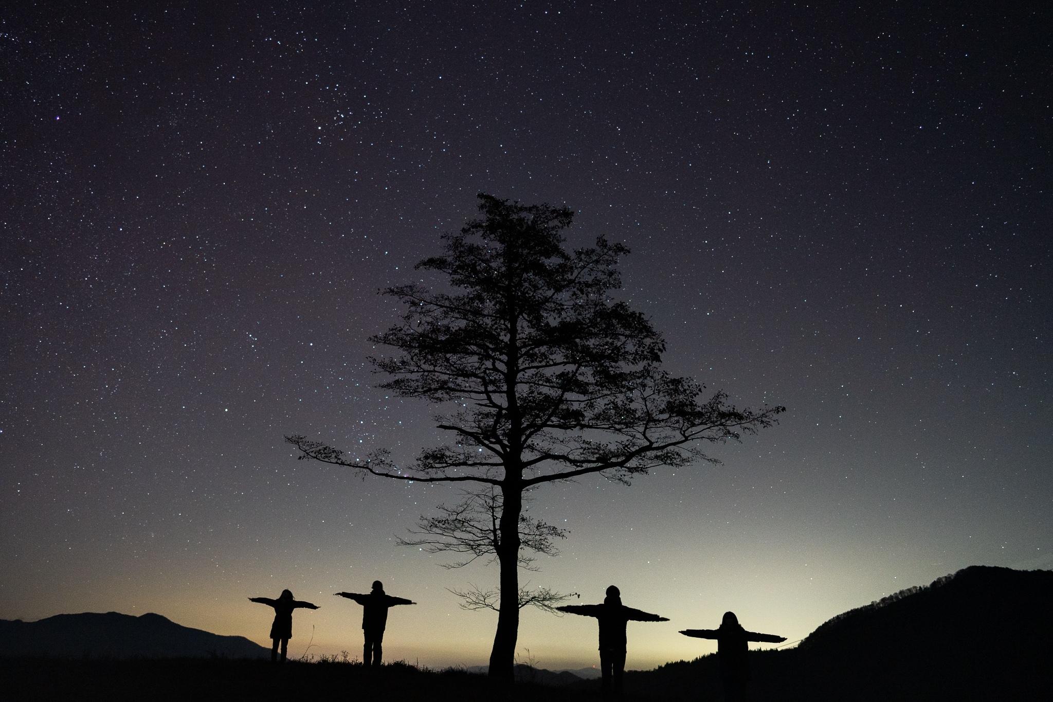 11/14-15スキー場には雪が積もる前に行く【天文サークル】
